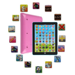 $enCountryForm.capitalKeyWord Australia - Bestseller Tablet Pad Computer Toys for Kid Children Learning Toys Electronic Notebook English Learning Educational TeachToy Gift