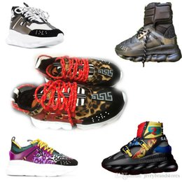 HeigHt sHoe cHina online shopping - 2018 toq quality Chain Reaction sneaker luxury designer sneakers Fashion district cheap china shoes for sale