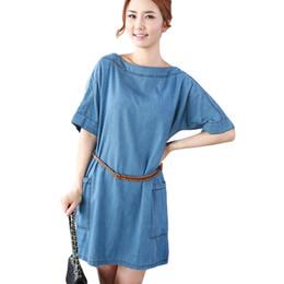 8a02ebdf81 2019 New Summer Jeans dress Female Casual Denim Dress Elegant Slim Summer  Mini Women Dresses Fashion Vestidos Plus Size