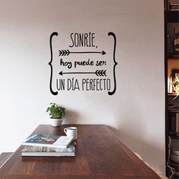 Quotes For Home Decor Australia - decor wallpaper Spanish Wall Stickers Home Decor , Spanish Art Quote Vinyl Walls Decals Wallpaper for Living Room Home Decoration