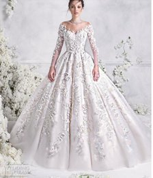 Drop Waist Lace Wedding Dresses Straps Australia - 2018Gowns feature nipped in waists, majestic floor sweeping skirts, and off-the-shoulder necklines that highlight the decolletage elegantly: