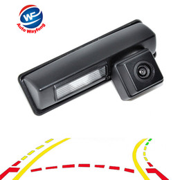 camera tracking NZ - Intelligent Dynamic Trajectory Tracks Parking Line Reverse Backup camera car Rear View Mirror Camera For Toyota Camry 2007-2012