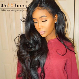 $enCountryForm.capitalKeyWord Australia - WoWEbony Celebrity Style Human Hair Glueless Lace Frontal Wigs & Full Lace Wigs For Black Women Indian Remy hair Super Wavy Lace Wigs