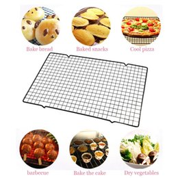 $enCountryForm.capitalKeyWord Canada - 40*25cm Nonstick Cooling Rack Cake Drying Stand Mesh Grid Baking Cookie Biscuit Wire Pan Home Kitchen Baking Rack Bakeware 30p