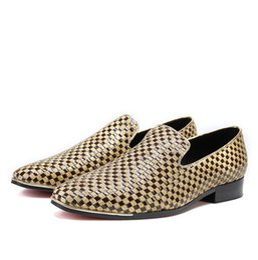 Shoes 2019 Latest Design Christia Bella Designer Genuine Leather Men Shoes Silver Printing Business Shoes Metal Charm Wedding Men Dress Shoes Plus Size