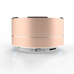$enCountryForm.capitalKeyWord NZ - NEW Mini Portable Bluetooth Speaker TF Card Slot Aluminium Wireless Stereo Bluetooth Speaker with Retail Box