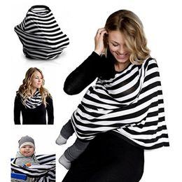 $enCountryForm.capitalKeyWord NZ - Baby Car Seat Cover Canopy Nursing Cover Scarf Multi-Use Breastfeeding Shopping Cart High Chair For Boys and Girls