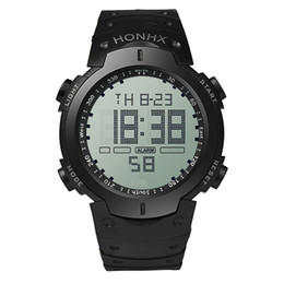 blue water sports 2018 - New Style Digital Watch S Shock Men military army Watch water resistant Date Calendar LED Sports Watches relogio masculi