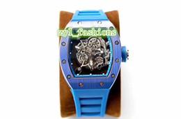 $enCountryForm.capitalKeyWord UK - 2018 The World's Most Popular Men's Watch Ceramic Bezel Hollow Mechanical Watch Blue Waterproof Rubber Strap
