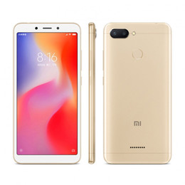 "redmi 4g mobile NZ - Original Xiaomi Redmi 6 4G LTE Cell Phone 4GB RAM 64GB ROM Helio P22 Octa Core 5.45"" Full Screen 12.0MP Fingerprint ID Smart Mobile Phone"