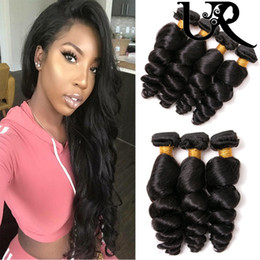 $enCountryForm.capitalKeyWord NZ - Wholesale Loose Wave Virgin Hair 3 Bundles Indian Human Hair 100% Unprocessed Remy Hair 8-28inch Natural Colour For Black Women New Style