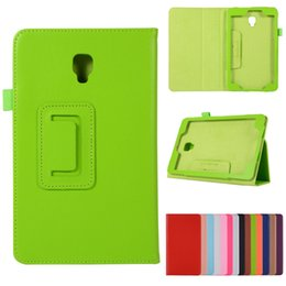 $enCountryForm.capitalKeyWord Canada - Litchi PU Leather case Smart Cover For Samsung Galaxy Tab A 8.0 2017 T380 T385 SM-T385 tablet case Protective shell + Pen