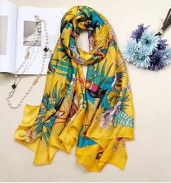594884d7b 3 color 160X50cm New Women's Fashion Georgette Long Wrap Shawl Beach Silk  Scarf Scarves Fashion Accessories