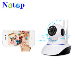 network security alarms UK - Netop Wireless 720P,960P,1080P HD ip camera wifi camera network IR Outdoor Waterproof security camera work with alarm sensor