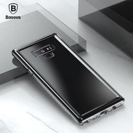 Anti Dirt Australia - Baseus Military Level Anti Knock Case For Samsung Note 9 Thin Clear Protective Soft Silicone Case For Samsung Galaxy Note 9 Capa
