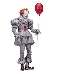 $enCountryForm.capitalKeyWord UK - Free shipping Neca Original Stephen King's It Pennywise Joker clown BJD Action Figure Toys Dolls 18cm