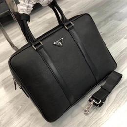 Lüks marka Evrak Hakiki deri Evrakları en kaliteli moda Elbise iş evrak erkekler bilgisayar çantaları 39 * 29 * 6 cm Modeli TTA002