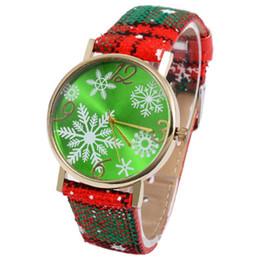 $enCountryForm.capitalKeyWord Australia - Christmas Gift Lady Glass Mirror Watch Cartoon Snowflake Elk Deer Women Wristwatches Christmas Pendant Watches Bracelet 4color