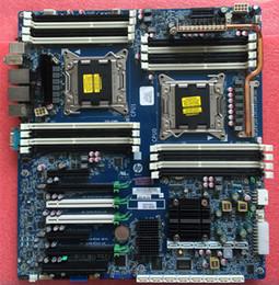 Para placa-mãe HP Z820 Intel LGA2011 DDR3 Workstation 708610-001 618266-004 em Promoção