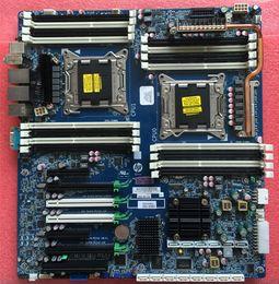 Para HP Z820 Intel LGA2011 DDR3 estación de trabajo Motherboard 708610-001 618266-004