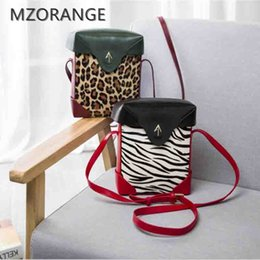 $enCountryForm.capitalKeyWord NZ - wholesale New 2018 genuine leather Arrow box women handbags Zebra Leopard Pattern Shoulder Bags Crossbody Bags Atelier Turkey