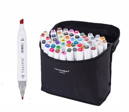 drawing art set box UK - 2019 New Touchfive 30 40 Colors Art Markers Pen Oily Writing Art Supplies for Animation Manga Draw Brush luxury Pen Liner Dual Head