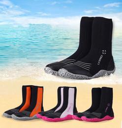 5 мм высокая дайвинг обувь серфинг дрейфующих скольжения теплая обувь подводное плавание Флиппер сапоги Приморский Пляж обувь серфинг пинетки 5 пар OOA4940