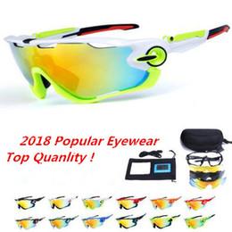 Mountain woMen online shopping - 2019 Polarized Brand Cycling Sunglasses Racing Sport Cycling Glasses Mountain Bike Goggles Interchangeable Lens Outdoor Cycling Eyewear