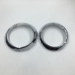 Nebelscheinwerfer Lampe Chrom Abdeckung Ring Trim für Mercedes Benz W251 R280 R300 R320 R350 R400 R500 R63 AMG