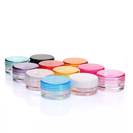 $enCountryForm.capitalKeyWord NZ - 5G 5ML High Quality Empty Clear Container Jar Pot for Powder Makeup, Cream, Lotion, Lip Balm Gloss, Cosmetic Samples