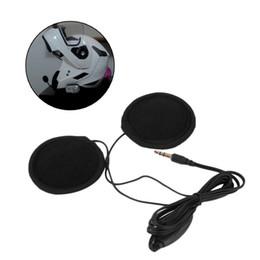 Speaker Ear Australia - 3.5mm Motorbike Motorcycle Helmet Stereo Speakers Headphones Volume Control Earphone for MP3 GPS Phone Music
