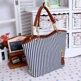 $enCountryForm.capitalKeyWord Canada - 2019 Women Handbags Ladies Canvas Shoulder Bags Striped bolsa sac clutch bolsos tote tas big mini purse large for feminina 2018 main