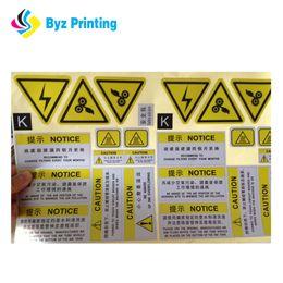Printing Label Paper Sticker Canada - Printing Custom Adhesive Printed Waterproof Logo Labels,Custom Adheisve Paper Sticker,perforated adhesive labels