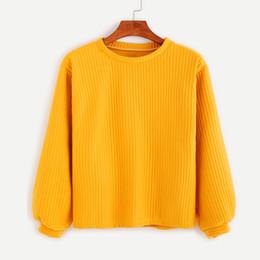 43844cb51ae3 Suéteres de las mujeres Otoño Invierno Algodón Ocasional Flojo Amarillo  Suéter de Punto Color Sólido Harajuku Suéter de Manga Larga Mujer Cardigan