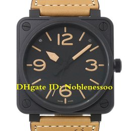 luxury square automatic watch 2019 - 4 Color Top quality Luxury Mens Watch Heritage Automatic 46mm Black Dial Mens 01 92 Wrist Watch 90057806 Rubber Band Aut