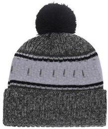 $enCountryForm.capitalKeyWord Australia - 2019 Autumn Winter hat Sports Hats Custom Knitted Cap with Team Logo Sideline Cold Weather Knit hat Soft Warm Oakland Beanie Skull Cap