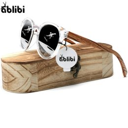 $enCountryForm.capitalKeyWord NZ - Ablibi Womens Custom Cat Eye Sunglasses Polarized Wood Shades Mens Design Brand Clear UV Block Sun Glasses in Wood Box