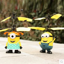 $enCountryForm.capitalKeyWord NZ - New light boats small yellow people Xian Aircraft remote control airplane toy hot induction very good