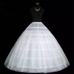 Wedding Dress Full Petticoat Australia - 2018 New Design Hoop Bonning Puffy Petticoat Two Layers 6 Hoops Full Length Bridal Wedding Dress Underskirt Quinceanera Ball Gown Crinoline
