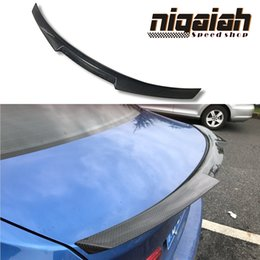 $enCountryForm.capitalKeyWord Canada - For BMW M4 Coupe F82 M4 Car Spoiler Carbon Fiber M Performance Vorstiner Style Carbon Rear Trunk Spoiler Wing 2014 - UP