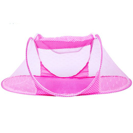 $enCountryForm.capitalKeyWord UK - Infant Baby Bedding Crib Mosquito Net For Baby,portable Mosquito Mesh Netting Toddler Cots,fodable Summer Nets Insect