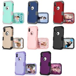 Hot Sales Iphone Case Australia - Hot sale Shockproof for iphone x luxury brand case Hybrid PC+Silicone shockproof phone case full protective cover for Iphone xs max case