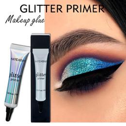 Wholesale Glitter Lips Australia - Sequin Glitter Eye Shadow Pigment Cream Fashion Face Lip Eye Makeup Primer Cream Women Universal Makeup Cosmetic