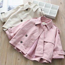spring jackets for baby girls Canada - Spring Fashion Baby Jakcet For Girls Jacket Baby Outerwear Kids Jacket Girls Jackets Baby Clothes Girl Outerwear