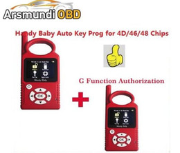 ToyoTa copy key programmer online shopping - DHL free Russia Portuguese Version V8 Handy Baby G Funtion Car Key Prog Auto Key Programmer for D Chips G Chip Copy Function