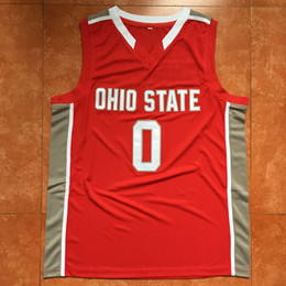 9066c382 #0 D'Angelo Russell ohio state D Angelo Basketball jersey Embroidery  Stitched Custom any Number and name