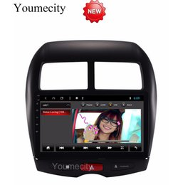 Car Console Dvd Australia - Octa Core Android 8.1 Car Dvd Gps Player For MITSUBISHI ASX 2010-2018 years Car Radio Video Stereo Audio Navigation
