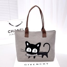 66a98406af9e Cute Cat Fashion Mommy Baby Diaper Bags Women Hobos For Shopping
