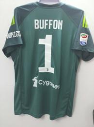 3ecc22e25 Buffon Goalkeeper Jersey UK - 18 19 JUVENTUS goalkeeper jerseys buffon  Soccer Jerseys 2018 2019 DYBALA