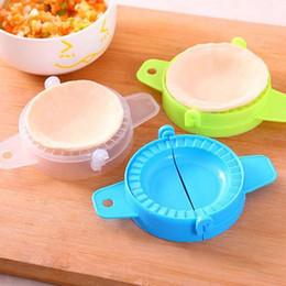 Pastry Cutters Australia - Plastic Ravioli Mould Dumpling Maker Mold Wrapper Pierogie Pie Crimper Pastry Dough Press Cutter Kitchen Gadgets